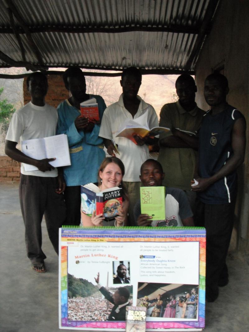 Nienke in Malawi