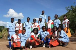 De netball-dames