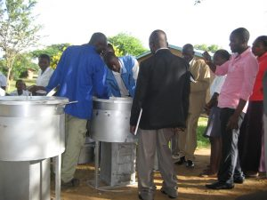 Donation of Rocket Stoves at Bolero (3) (Large)